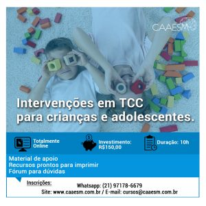 Intervenções em TCC para crianças e adolescentes